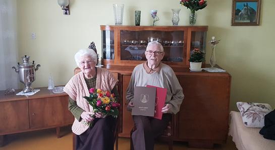 Państwo Stefania i Kazimierz Ciechowscy