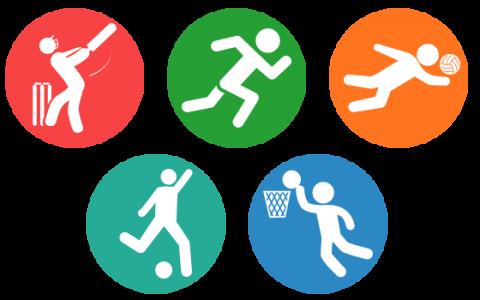 grafika- aktywności sportowe