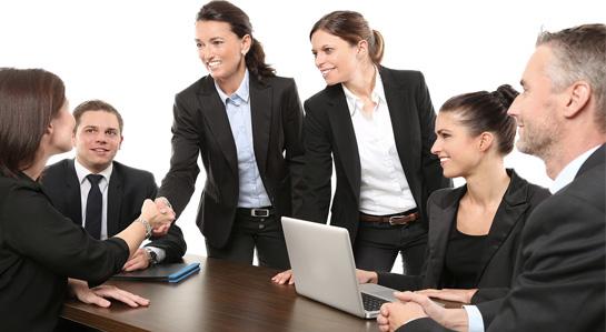 grafika- spotkanie przedsiębiorców
