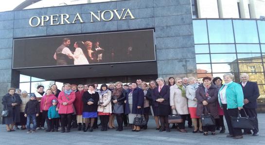 Zdjęcie zrobione podczas wyjazdu do opery