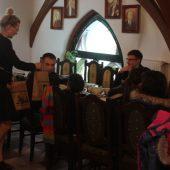 Zdjecie zrobione podczas wizyty osób z ukrainy