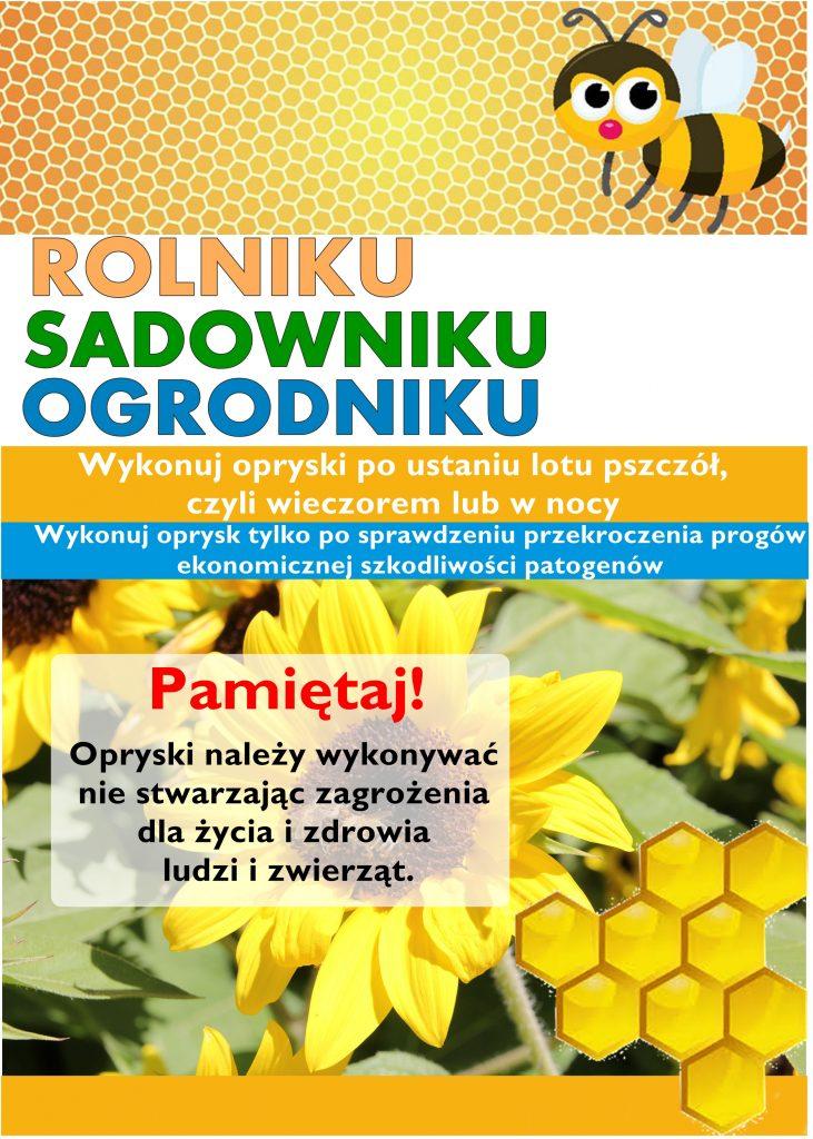Plakat Informacyjna dotyczacy