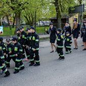 Zdjecie zrobione podczas obchodów dnia strażaka