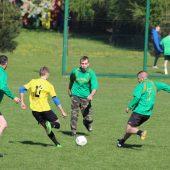 Zdjecia zrobione podczas trwania meczy piłki nożej w Gminie Lisewo