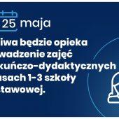 III etap odmrażania godpodarki - 25 maja 2020 roku