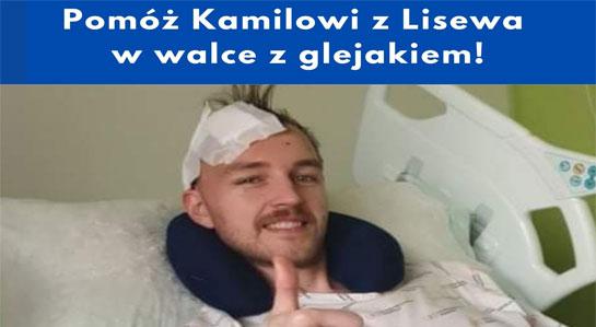Plakat - pomoc dla Kamila